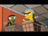 Кошмары и ужасы в исполнении Симпсонов